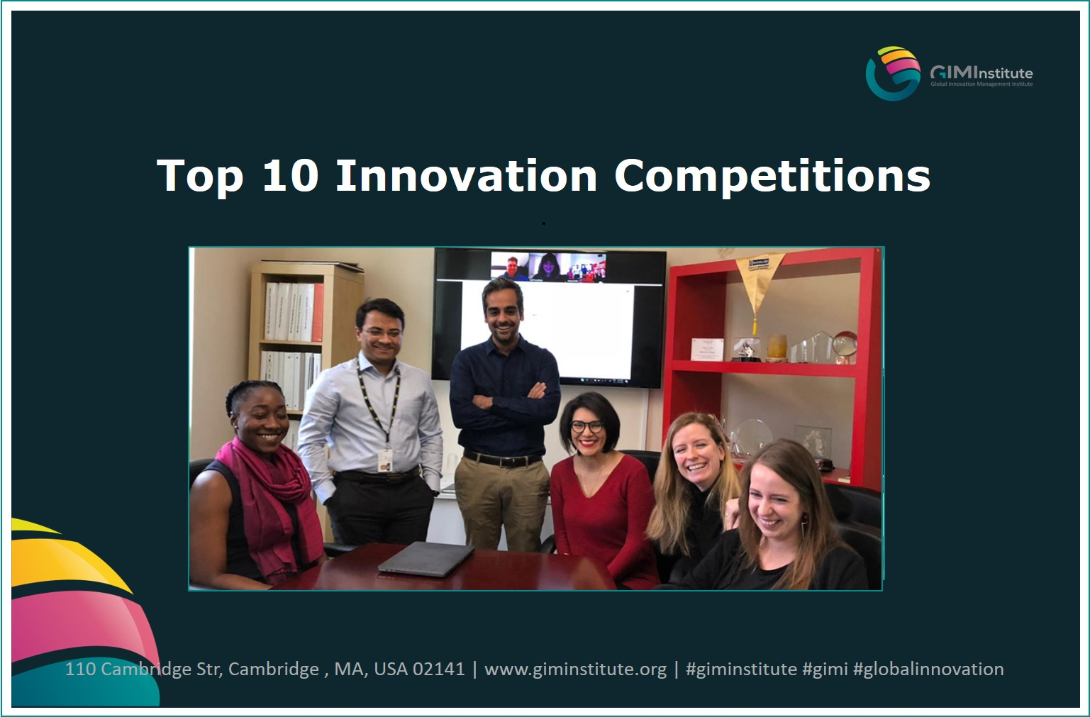 innovation consulting competitions - gimi top10
