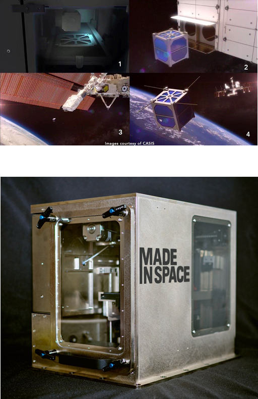 Made In Space. 3D Printers for Construction