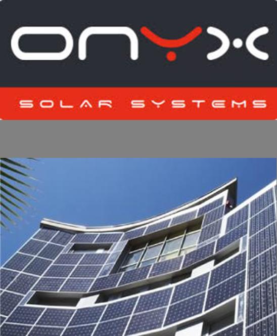 Onyx Solar. Photovoltaic glazing