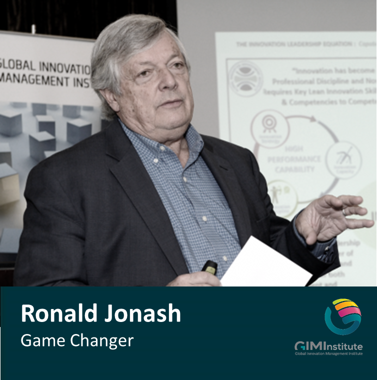 Ronald Jonash Game Changer Podcasts