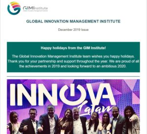 GIMI Newsletter | December 2019