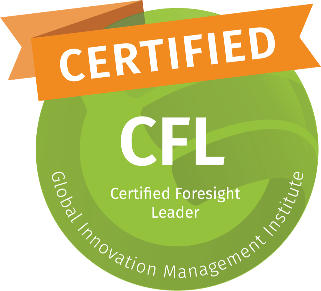 Level 2 of the certification journey covers the end-to-end Foresight process using the S4 Futures framework, which encompasses four stages: Scoping, Scanning, Scenarios and Strategy. It explores multiple foresight methodologies and tools.