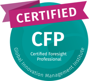 Level 1 of the certification journey comprises an overview of basic knowledge of future foresight, including fundamentals and literacy, the key premises and principles, as well as a comprehensive immersion into the main schools of thought and practice.